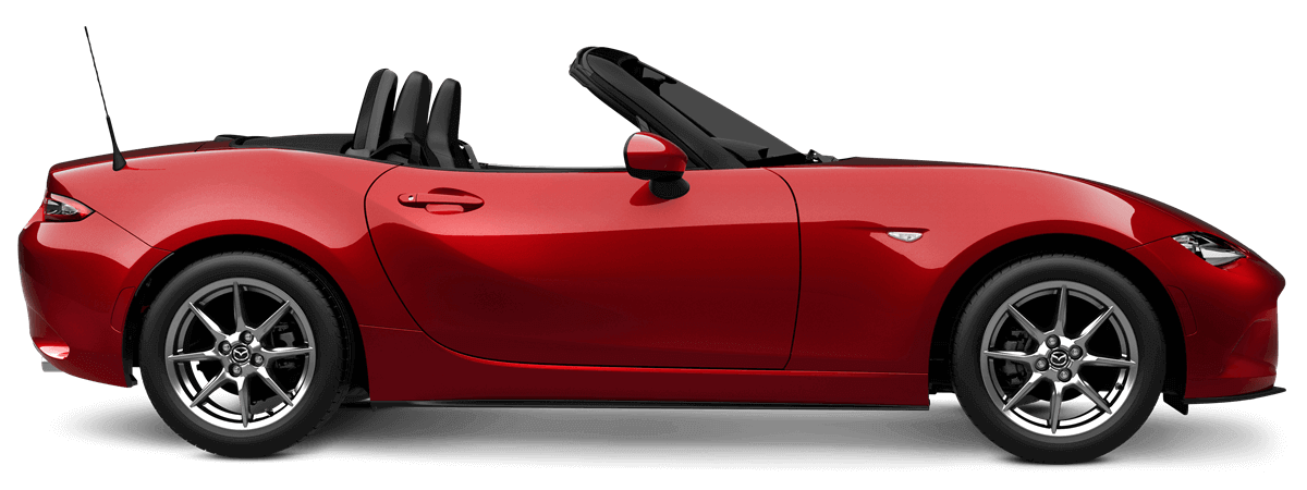 Mazda mx-5 Soul Red Crystal Metallic