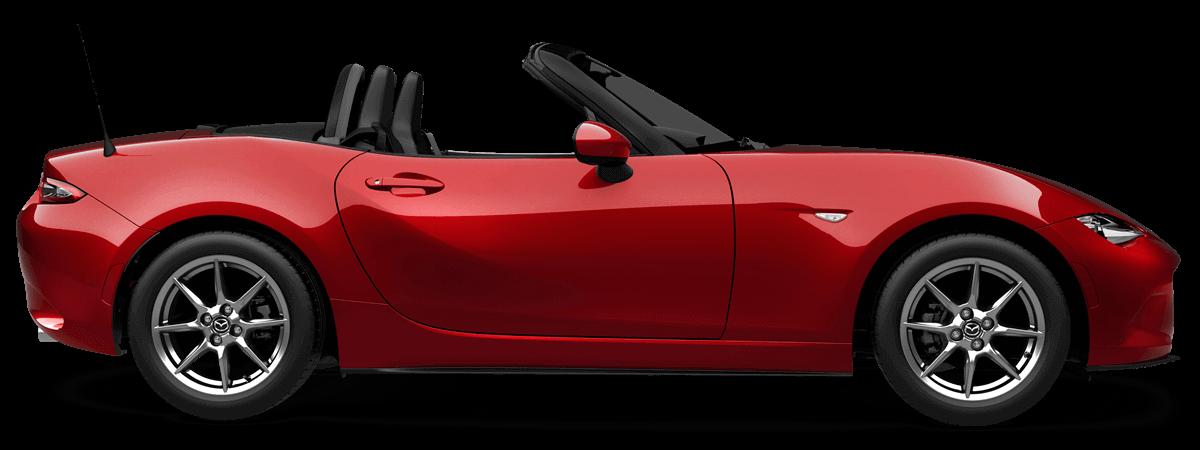 Mazda mx-5 Soul Red Crystal Metallic