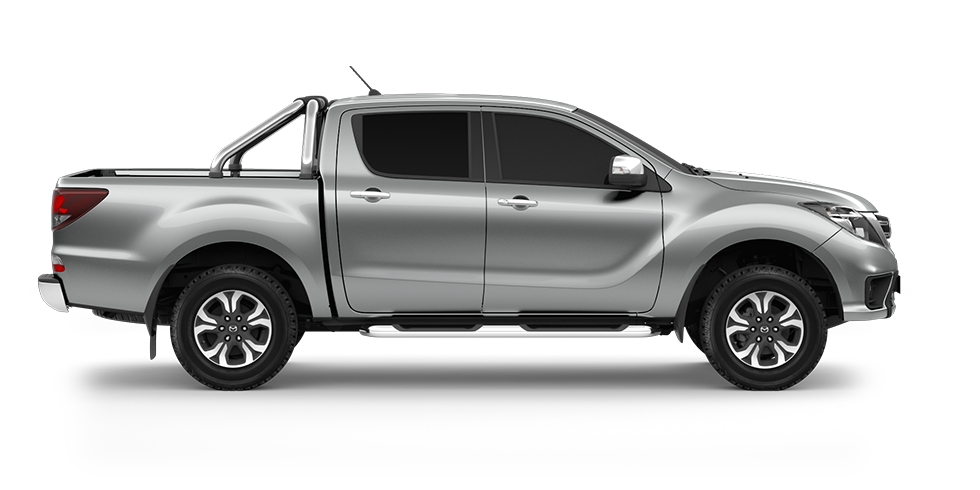mazda bt 50 silver metallic