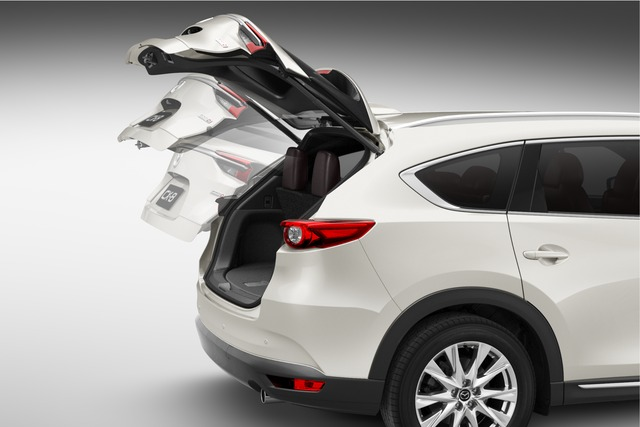 mazda cx 8 power tailgate