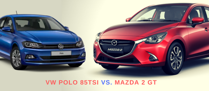 A Quick Comparison: The New Mazda 2 GT vs. The VW Polo 85TSI Comfortline