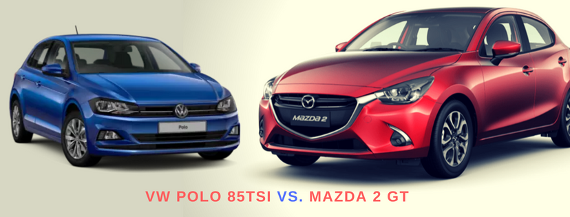 MAZDA 2 GT VS. THE VW POLO