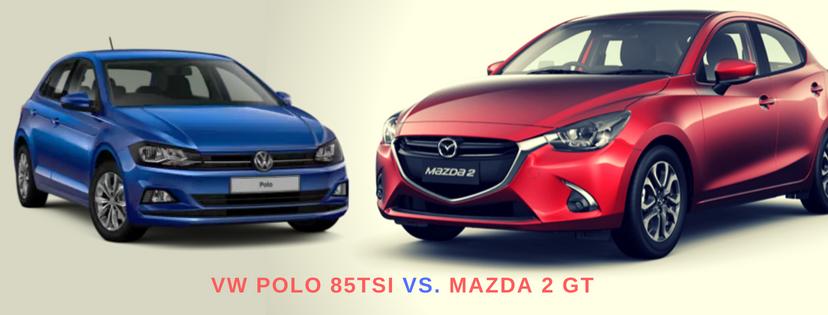 MAZDA 2 GT VS. THE VW POLO