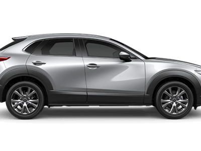 use Mazda finance to get CX-30 sonic silver