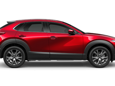 CX-30 astina soul red crystal metallic in Mazda Finance Perth