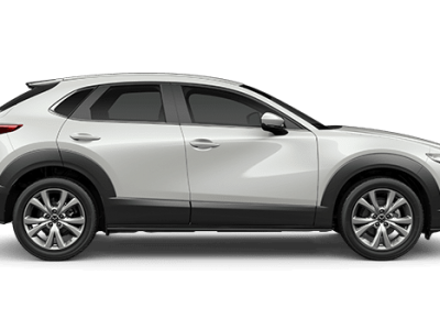 CX-30 snowflake white pearl in Mazda dealers Perth
