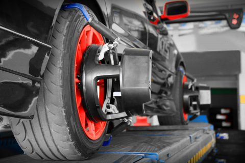 Wheel Alignment Mazda