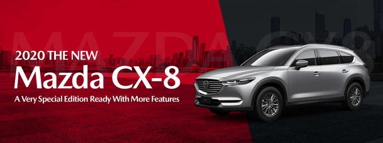 The All-New 2020 Mazda CX-8