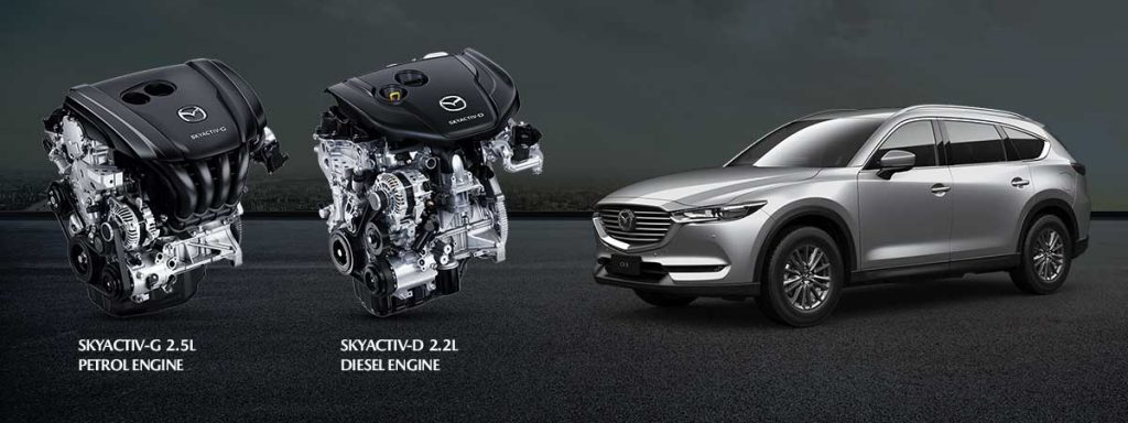 Mazda CX-8 has added new features