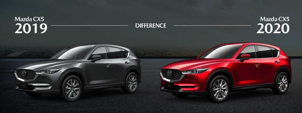 What is the difference between the 2019 and 2020 Mazda CX 5?