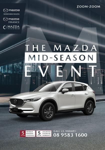 The Mazda mid season event