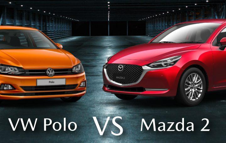 Mazda 2 vs VW Polo